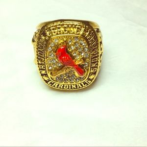 St Louis Cardinals 2004 NL Championship Fan Ring